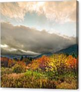 Autumn Storm Clearing Canvas Print