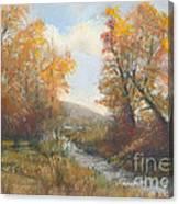 Autumn Study 3 Canvas Print