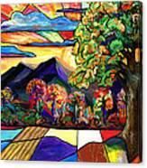 Autumn Sunrise Canvas Print