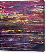 Autumn Sunset Along I-70 Canvas Print