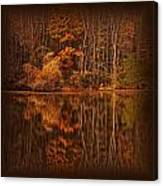 Autumn Tapestry Square Canvas Print