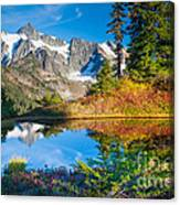 Autumn Tarn Canvas Print