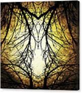 Autumn Tree Veins Canvas Print