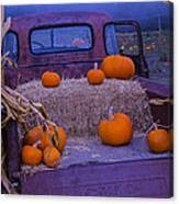 Autumn Truck Canvas Print
