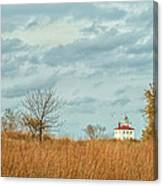 Autumn Twilight Pano Canvas Print