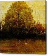Autumn Wardrobe Canvas Print