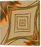 Autumn Web Canvas Print