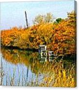 Autumn Weekend On The Delta Canvas Print