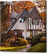 Autumn - Westfield Nj - Visting Grandpa's  Canvas Print