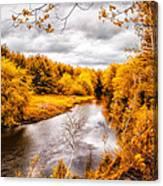 Autumn White Mountains Maine Canvas Print