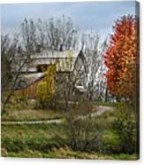 Autumn Winding Down Canvas Print