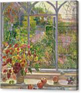 Autumn Windows Canvas Print