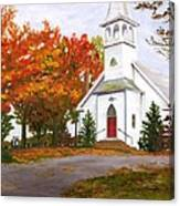 Autumn Worship Canvas Print