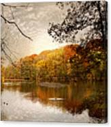 Autumn's Adieu Canvas Print