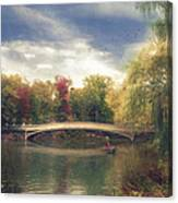 Autumn's Afternoon In Central Park Canvas Print