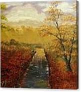 Autumn's Approach Canvas Print
