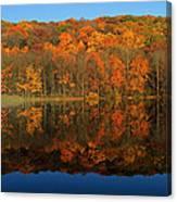 Autumns Colorful Reflection Canvas Print