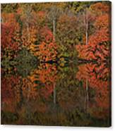 Autumns Design Canvas Print