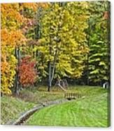 Autumns Playground Canvas Print