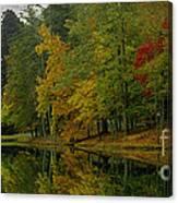 Autumns Reflection Canvas Print
