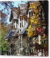 Autumn's Windows Canvas Print