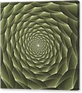 Avacado Vertigo Vortex Canvas Print