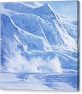 Avalanche At A Distance Canvas Print