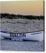 Avalon Lifeboat Canvas Print