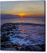 Avalon New Jersey Sunrise Canvas Print