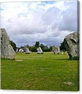 Avebury's Southern Entrance Stones Canvas Print