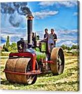Aveling Roller Canvas Print