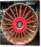 Avery Tractor Tire Canvas Print