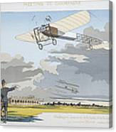 Aviation Meeting At Champagne Canvas Print