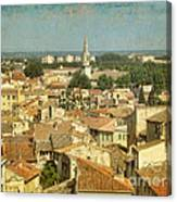Avignon From Les Roches Canvas Print