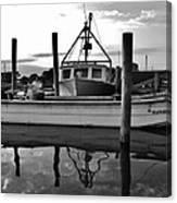 Avon Harbor Bxw 7/26 Canvas Print