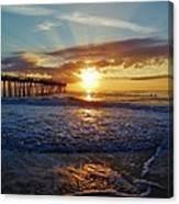 Avon Pier Surfers Paradise 9/08 Canvas Print