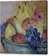 Avonelle's Fruit Bowl Canvas Print