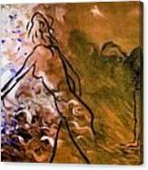 Awake And Mellow Yellow Canvas Print