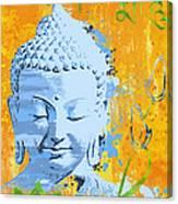Awakened One Mantra Canvas Print