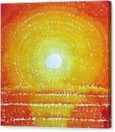 Awakening Original Painting Canvas Print
