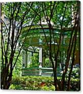Awesome Victorian Porch Canvas Print