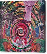 Aya Muyuywairu Tornado Espiritual Canvas Print