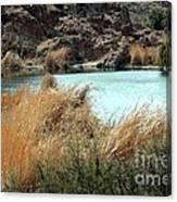 Ayer Lake Canvas Print