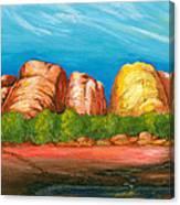 Ayers Rock End Canvas Print