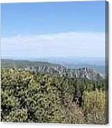 Az From 8000 Feet Canvas Print