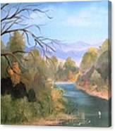 Az High Country Canvas Print