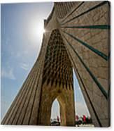 Azadi Tower  Tehran  Iran Canvas Print