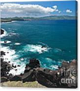 Azores Islands Ocean Canvas Print