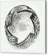 Aztec Bowl Canvas Print