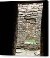 Aztec Doorway Canvas Print